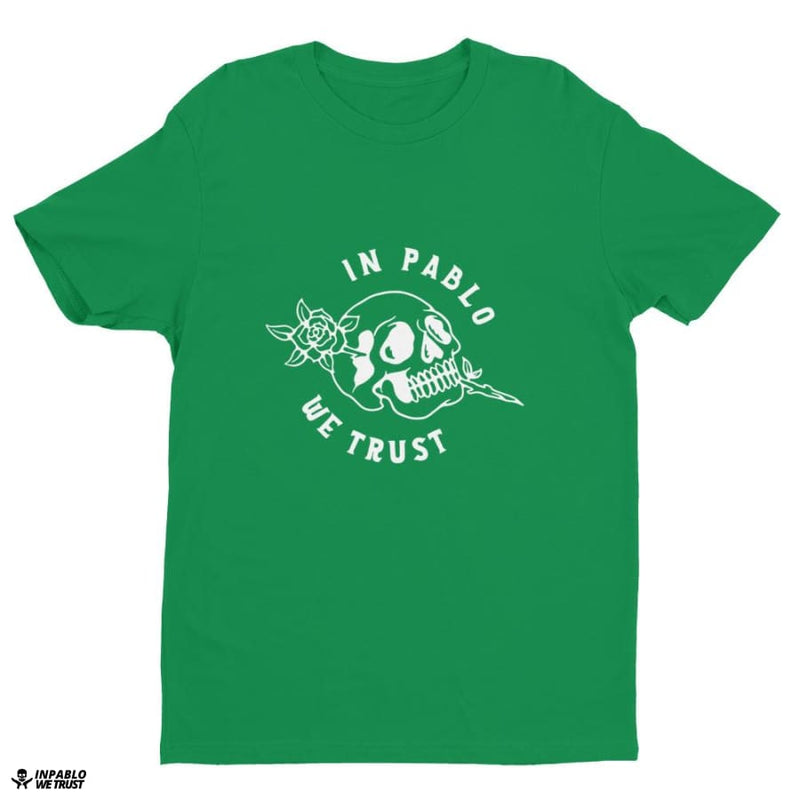 Ipwt Roses Men Tee - Kelly Green / Xs