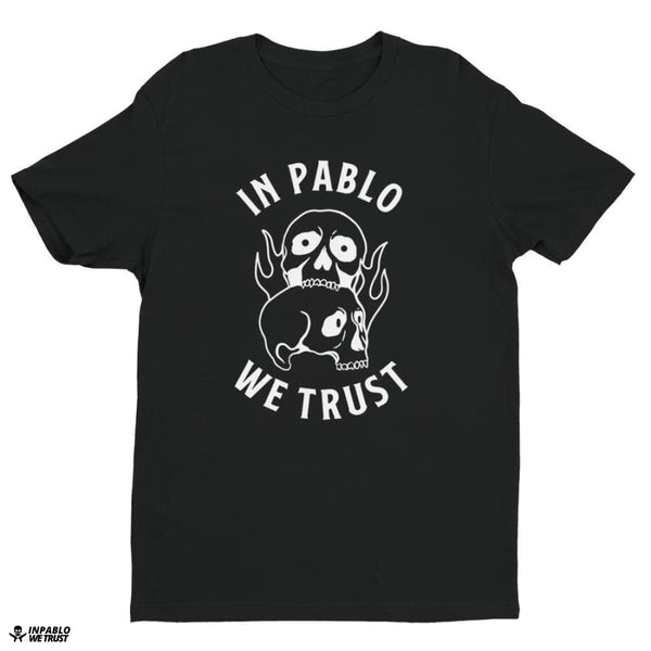 Ipwt Skull Men Tee - Black / Xs - T Shirt