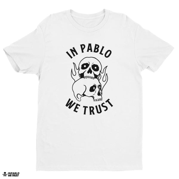 Ipwt Skull Men Tee - White / Xs - T Shirt