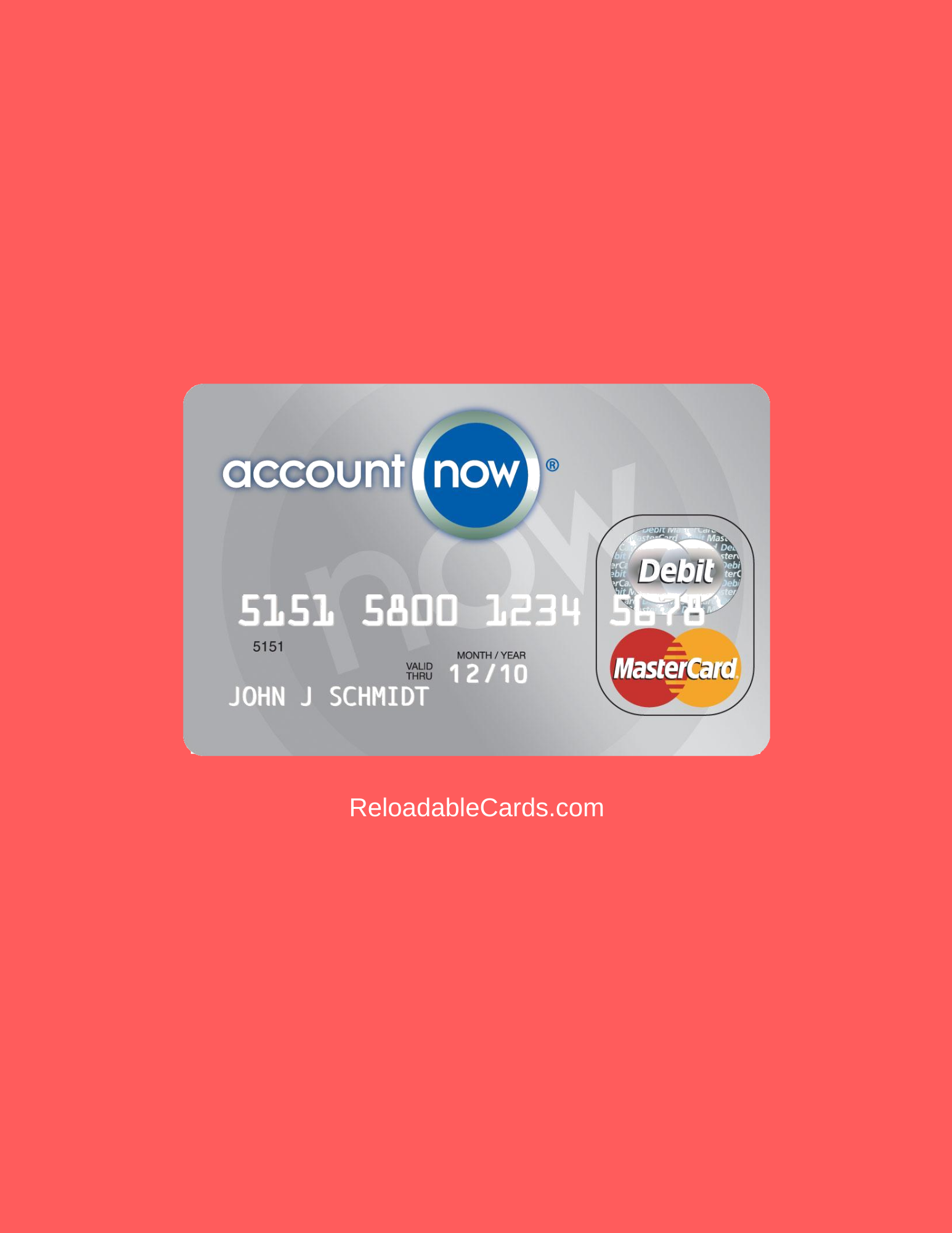 accountnow prepaid card