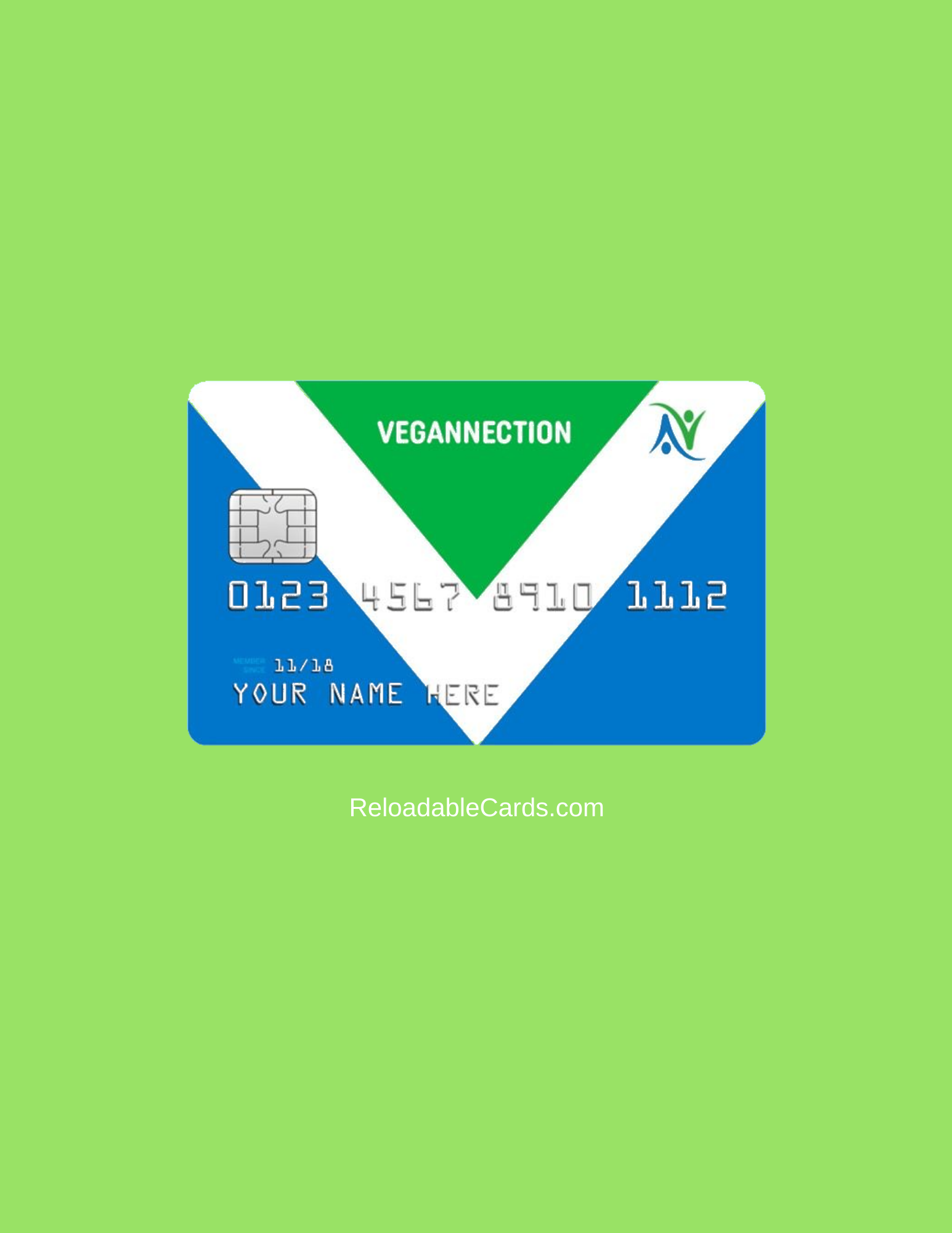 vegannection prepaid card