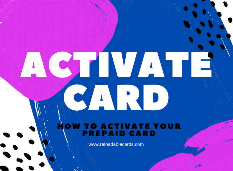 How to activate your prepaid card