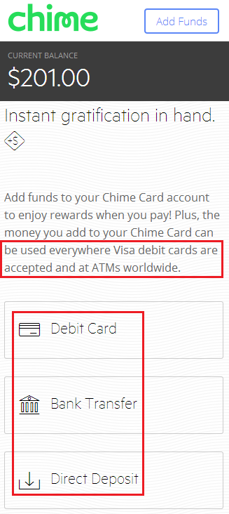 How do I Add Money to Chime Card?