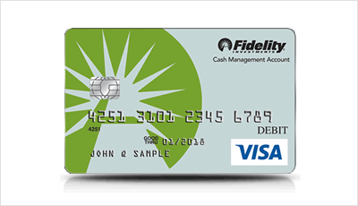 fidelity cash card