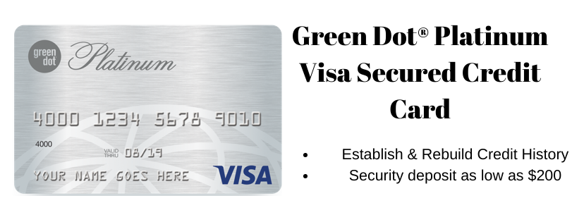 Green Dot Platinum Visa Secured Credit Card