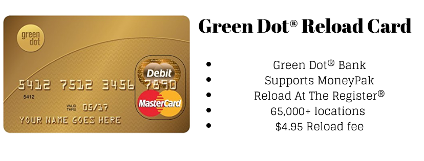 green dot reload card