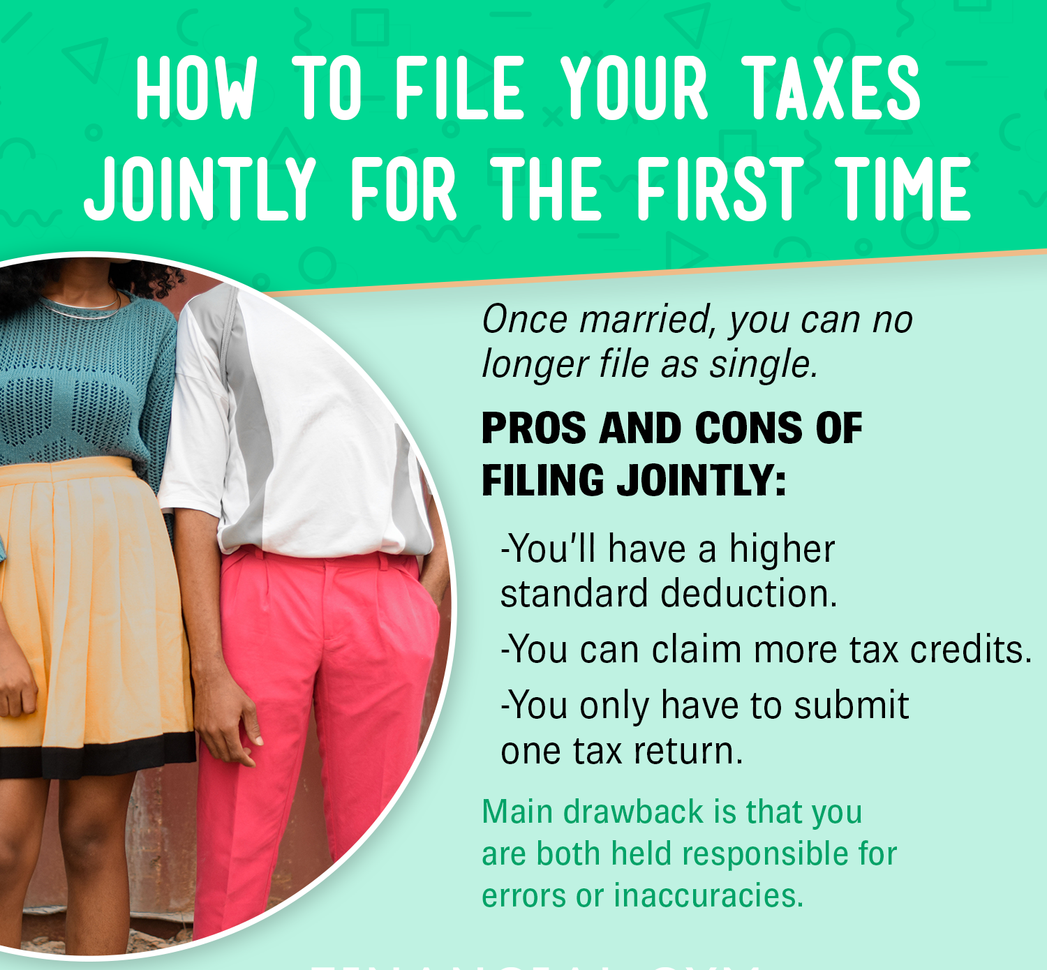Married and filing taxes individually