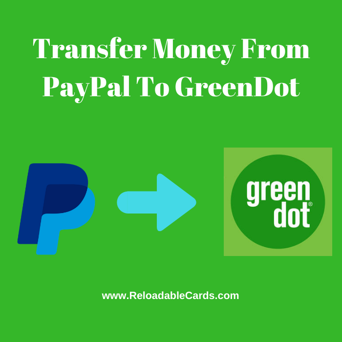 transfer money from greendot to paypal