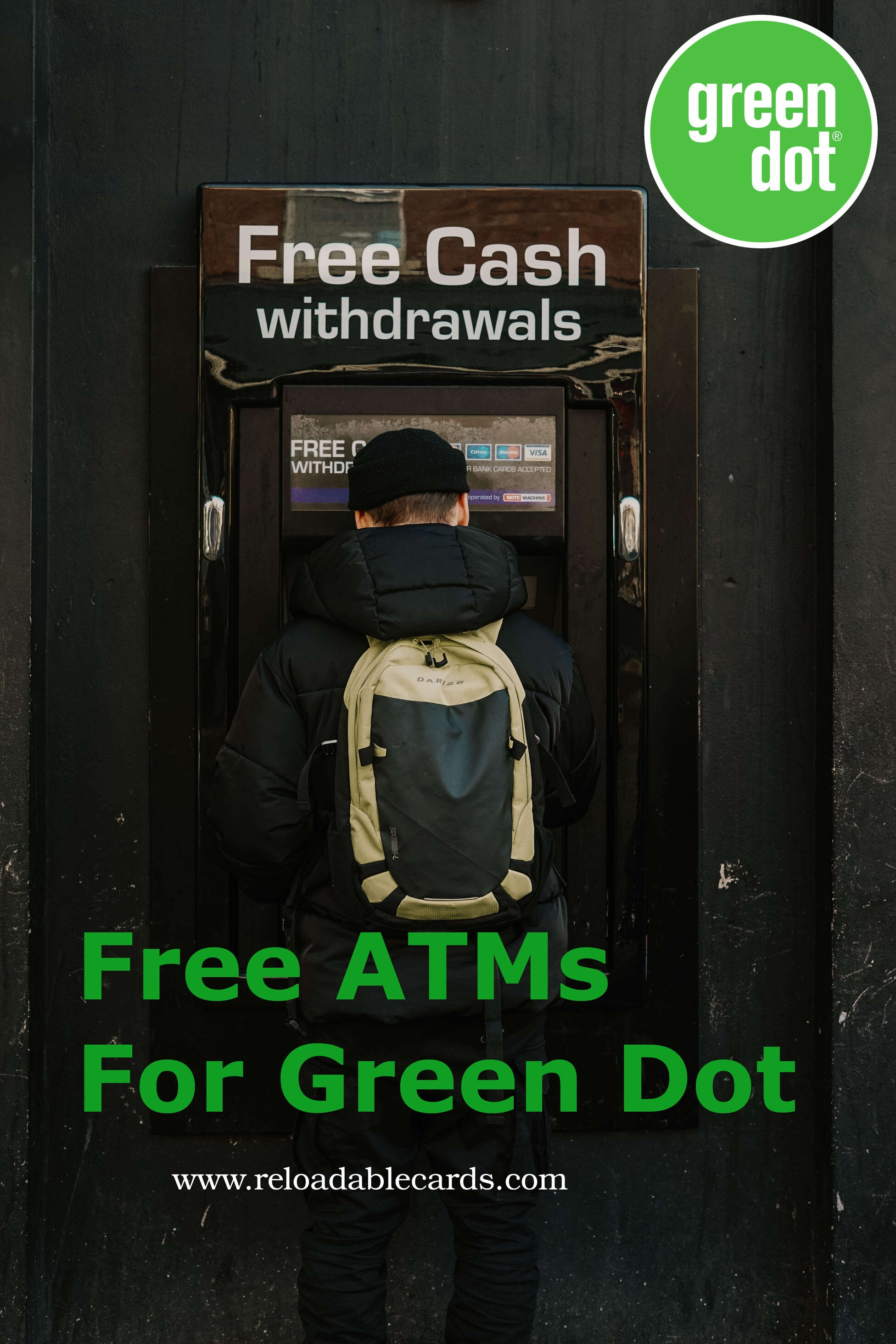 free atms for Green dot