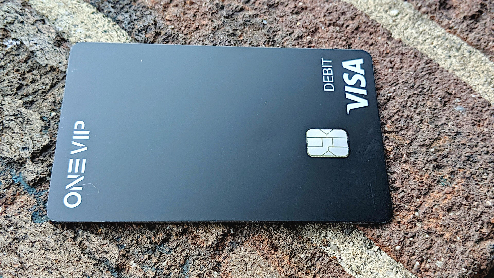 One VIP prepaid debit card