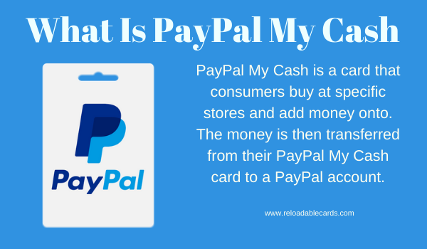what is paypal my cash