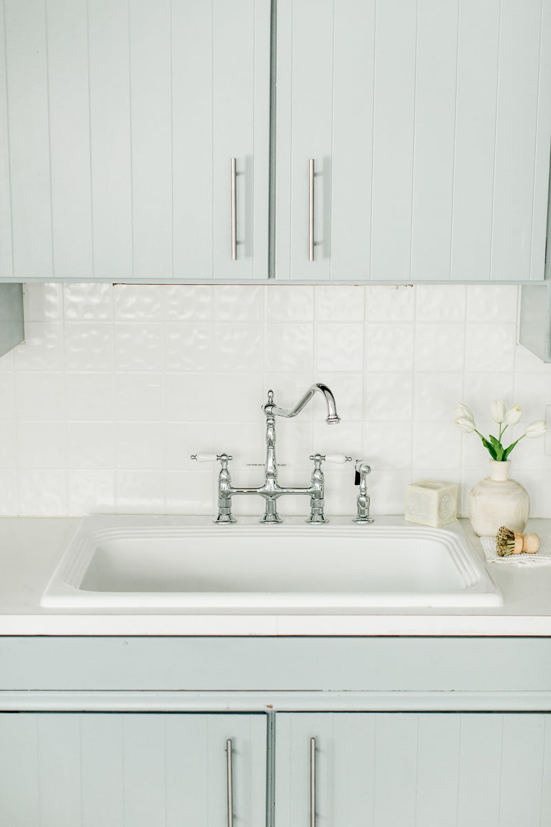 New Kitchen Sink- The Urban Flat