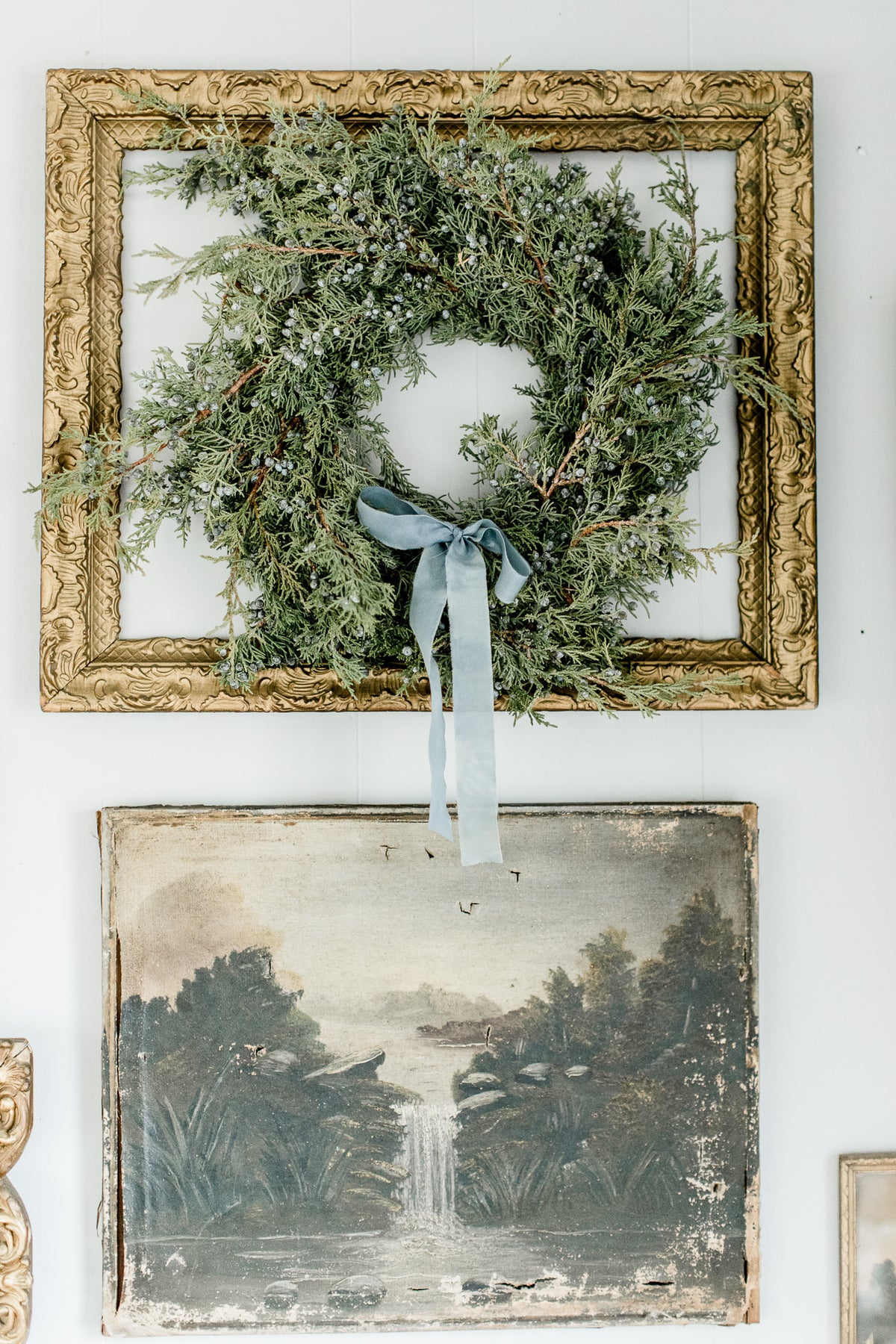 A French Blue Christmas