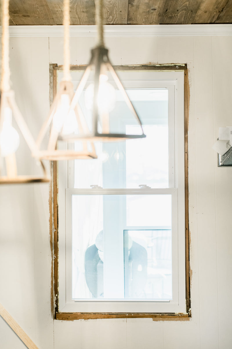 Easy DIY Custom Window Trim