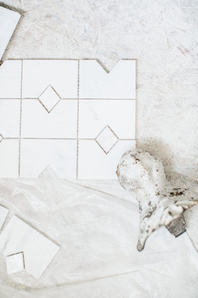 Spare Bathroom Tile Install + Inspiration