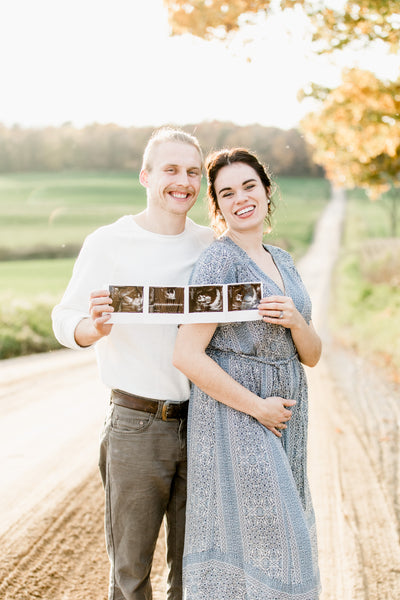 Our BIG News- We're Pregnant!