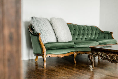 The Story Behind The Green Velvet Couch