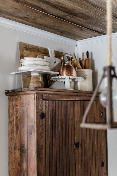 Rustic Wood Kitchen Ceiling