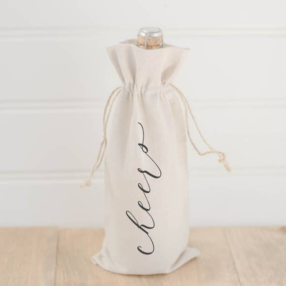 Calligraphy Wine Bag- 2 Styles