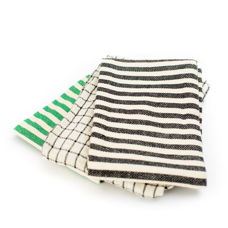 Striped Tea Towel (Set of 3)