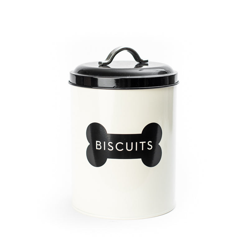 Dog Biscuit Tin Canister