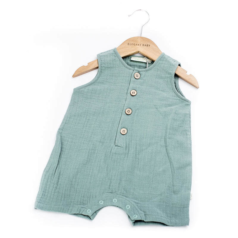 Organic Button Shortall