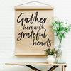 REPRINT- Grateful Hearts Scroll