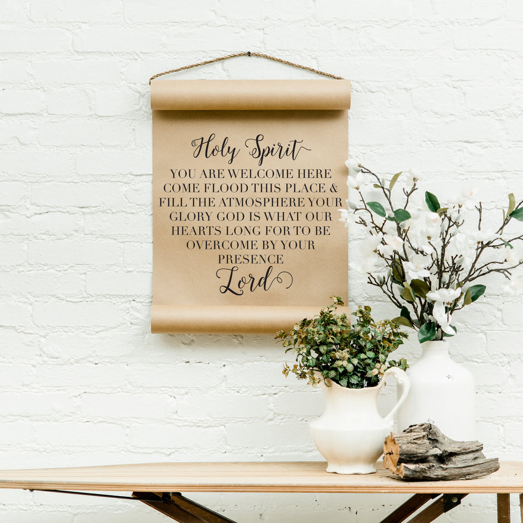 Holy Spirit Scroll