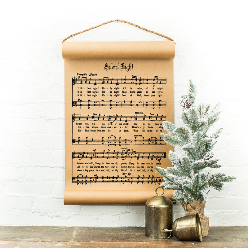 Silent Night Scroll
