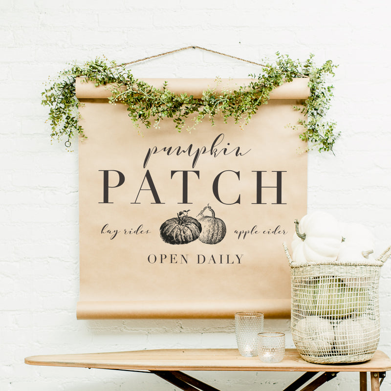 Pumpkin Patch Scroll