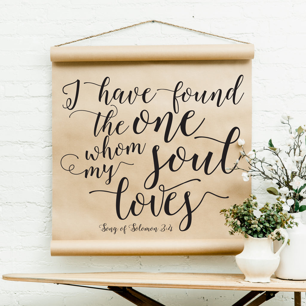 REPRINT- Song Of Solomon Scroll