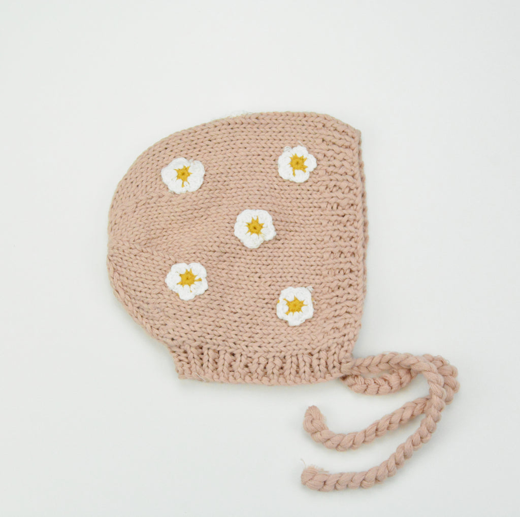 Blush Knit Bonnet (2 Styles)