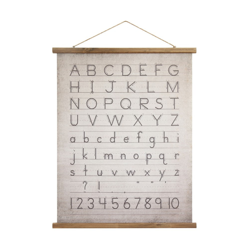 Vintage Inspired Alphabet Sign