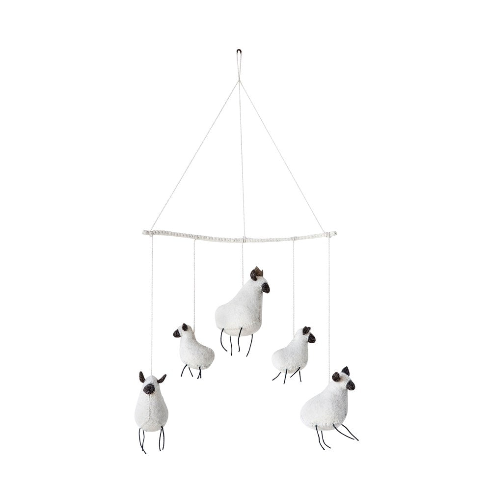 Whimsical Sheep Mobile