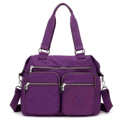 Nylon Large Capacity Crossbody Bag