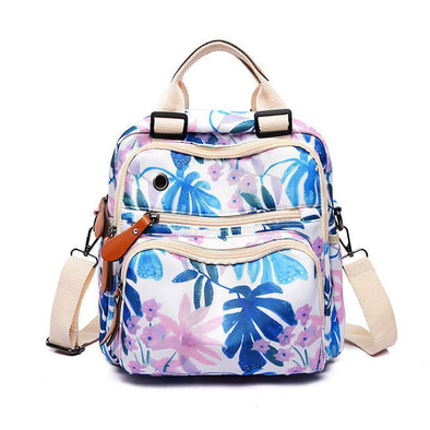 Printed Multi-function Crossbody Bag