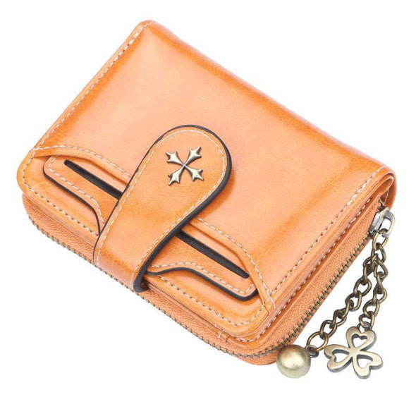 Women Buckle Long and Short Wallet