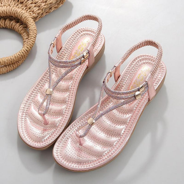 Toe flat sandals women summer shoes