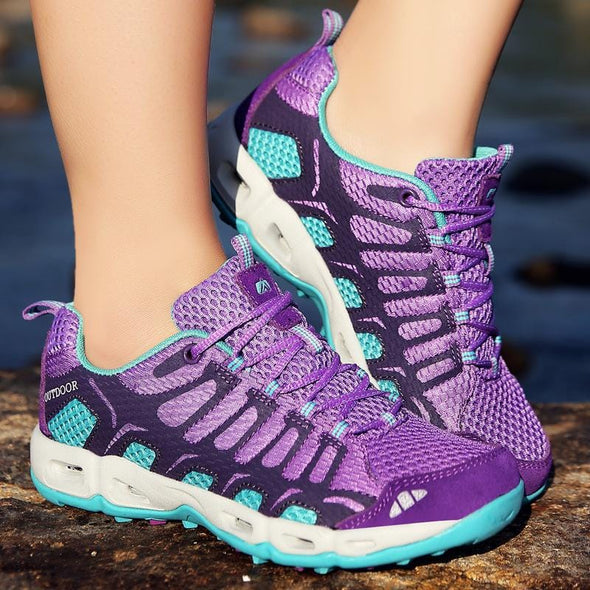 Women  Breathable Non-slip Outdoor Shoes Hiking Shoes