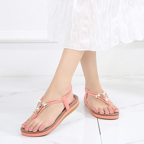 Summer sponge cake women's large size bohemian women's sandals