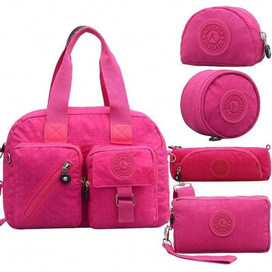 Women Casual Original  Crossbody Bags 5pcs Set
