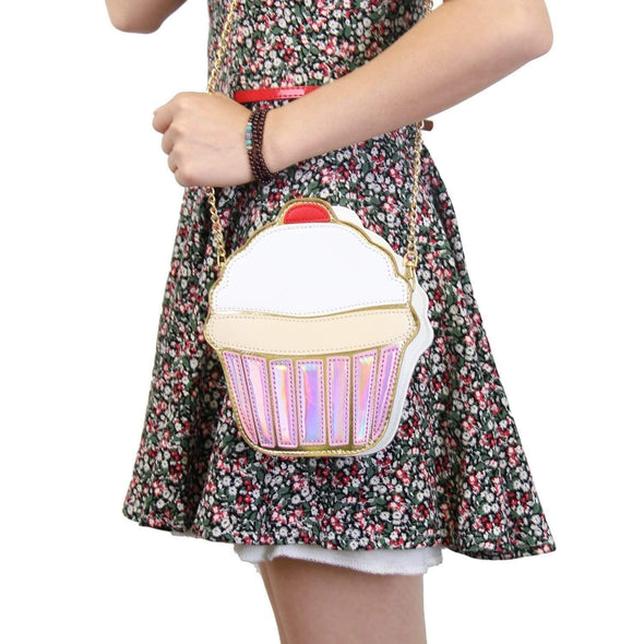 Woman Creative Style Ice Cream 3D Shoulder Bags