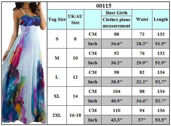 Womens Boho Long Maxi Floral Evening Party Backless Dress 2019 AliExpress EBay European And American Women Strap Strapless