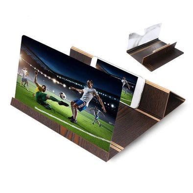 【Buy 2 Get 15% Off】3D Amplifying 12 Inch Phone Screen Stereoscopic Screen