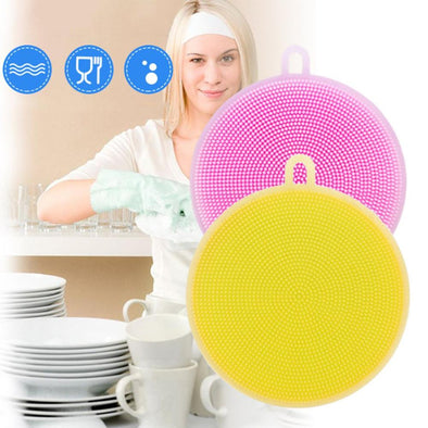 【Buy 1 Get 1 Free】Multifunctional Silicone Dishwashing Brush