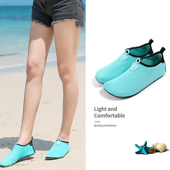 Women's barefoot soft shoes snorkeling shoes beach diving shoes non-slip treadmill shoes beach socks