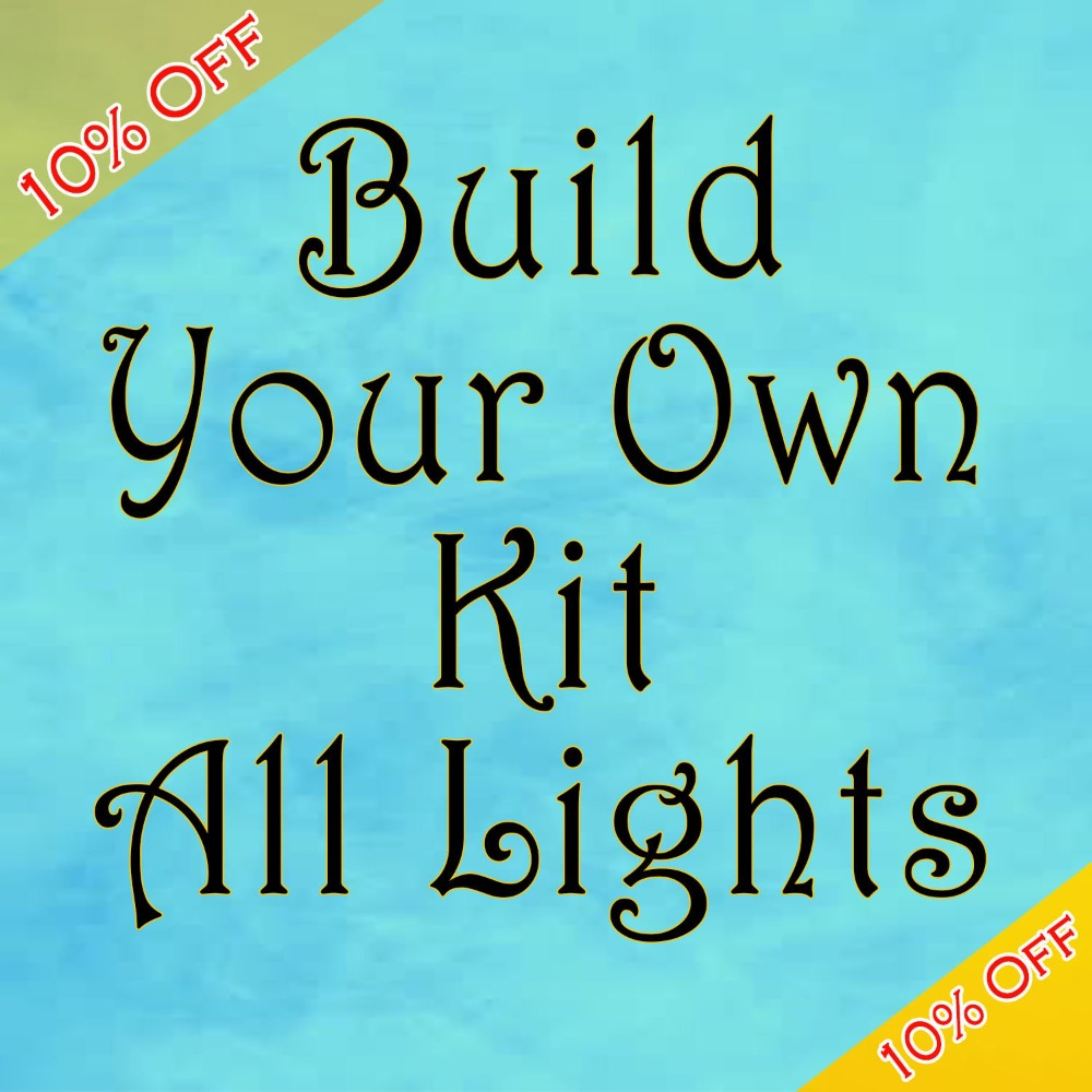 Build Your Own Complete Landscape Lighting Kit (Any Fixtures)