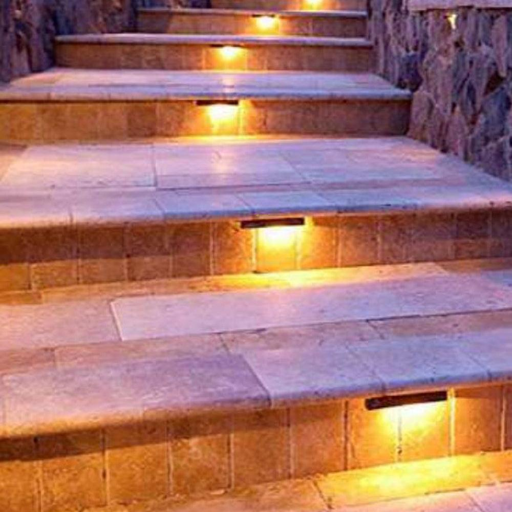 STB04 LED Retaining Wall Light Low Voltage Hardscape Paver Lighting