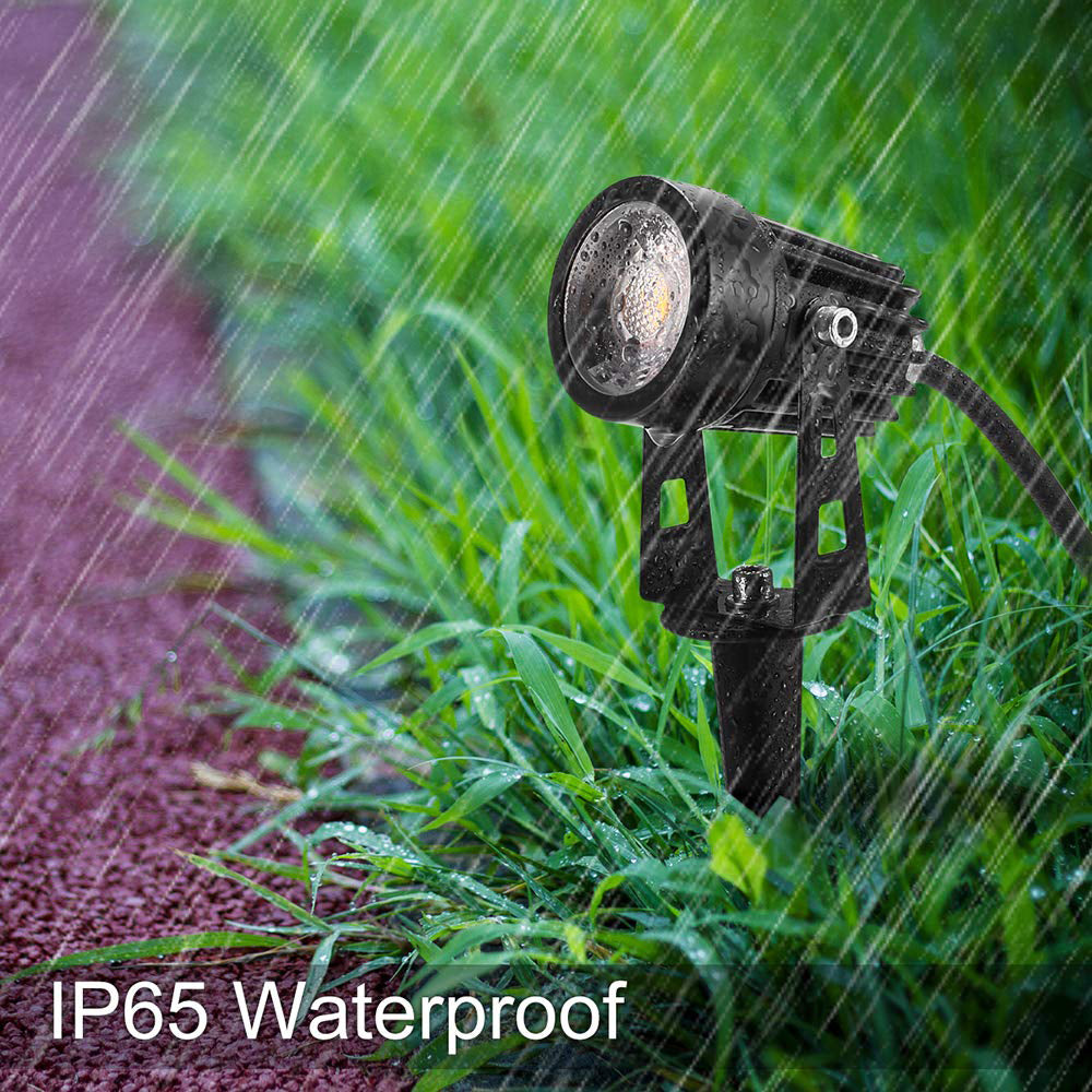 CD43 5W Waterproof LED Landscape Narrow Beam Directional Ground Spotlight