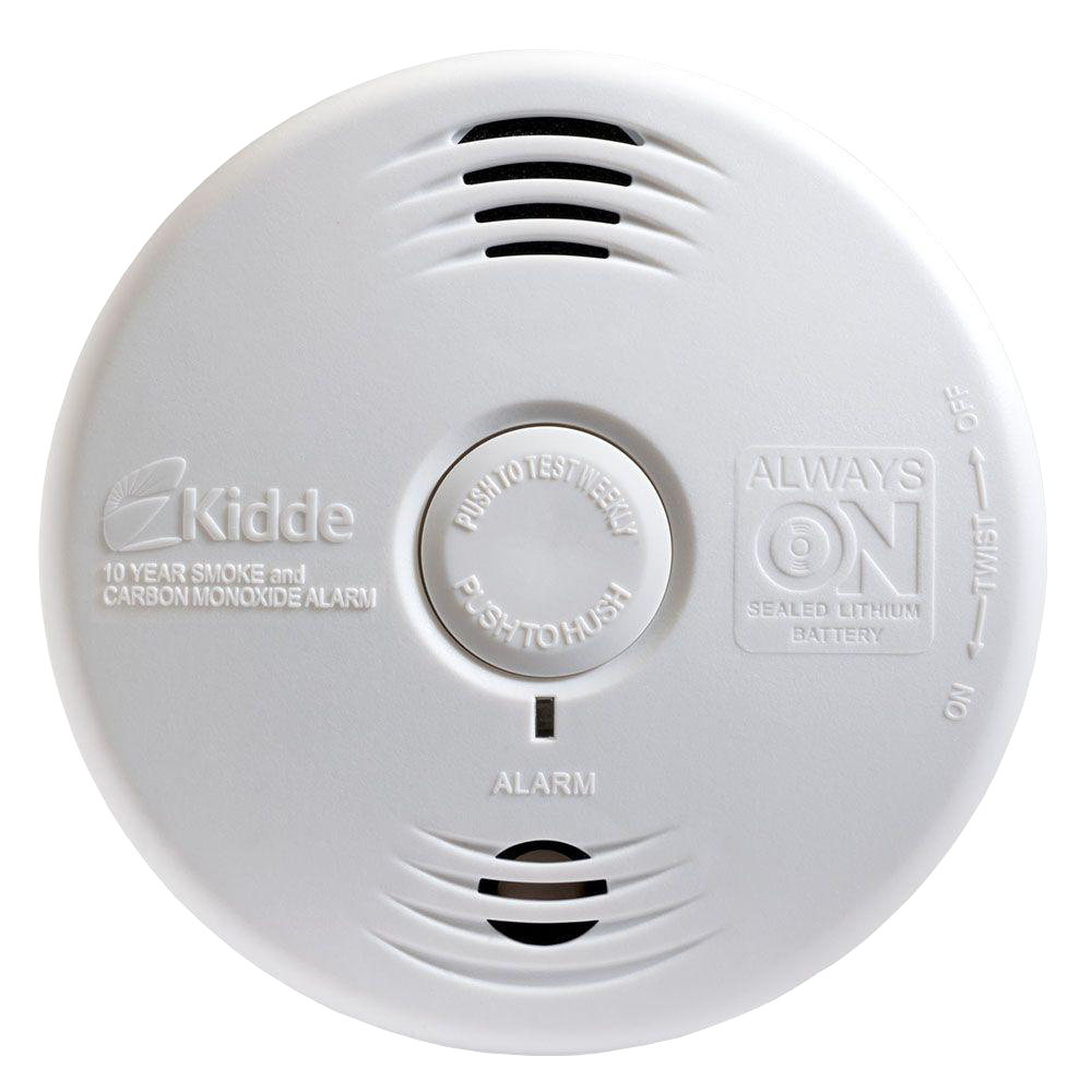 Kidde Worry-Free Combination Smoke and Carbon Monoxide Alarm